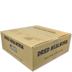 Dried Mealworms 5 lb Value Box